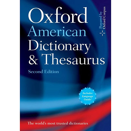 Oxford American Dictionary and Thesaurus