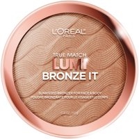 L'Oreal Paris True Match Lumi Bronze It Bronzer For Face and Body, Medium, 0.41 fl. oz.