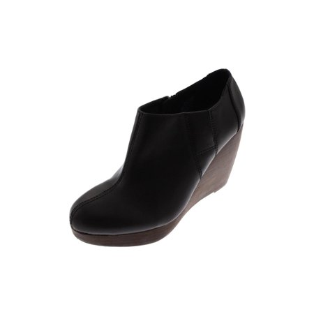 02f4ac209d9 Dr. Scholl s - Dr Scholl s Womens Harlie Faux Leather Stacked Wedge Boots -  Walmart.com