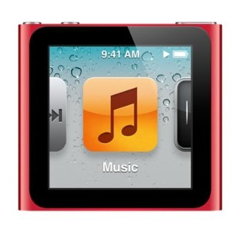 Apple iPod Nano 6th Generation 16GB Red- Excellent Condition, No Retail Packaging