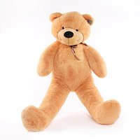 "Joyfay 78"" Giant Teddy Bear, Light Brown, 6.5ft, Birthday Christmas Valentine Gift"