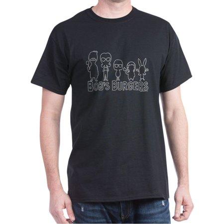 CafePress - Bob's Burgers Family Outline - 100% Cotton T-Shirt