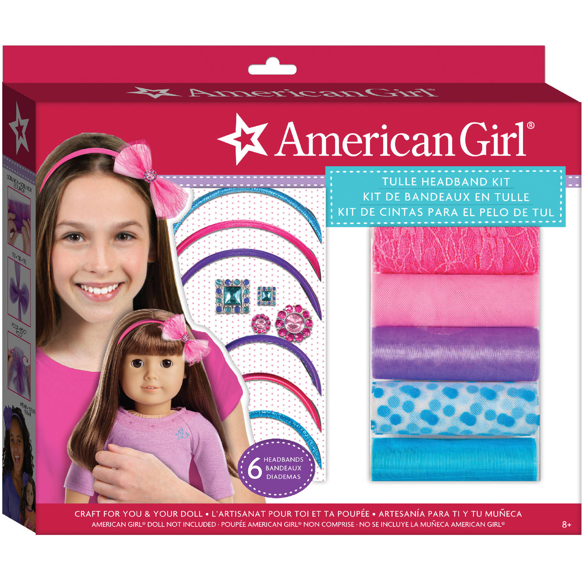 American Tulle Headband Kit