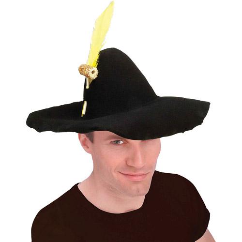 Felt Hillbilly Hat Halloween Accessory