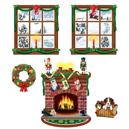 Club Pack of 60 Christmas Holiday Indoor Decoration Props 15