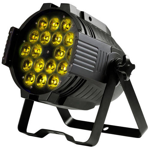 MONOPRICE Stage Wash 18W x 18 LED PAR Stage Light (RGBWA-UV)