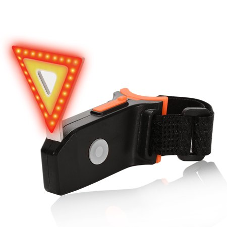 USB Rechargeable Bicycle Tail Light, Bright LED Bike Rear Light, Easy To install Cycling Safety Flashlight](Safety Lights)