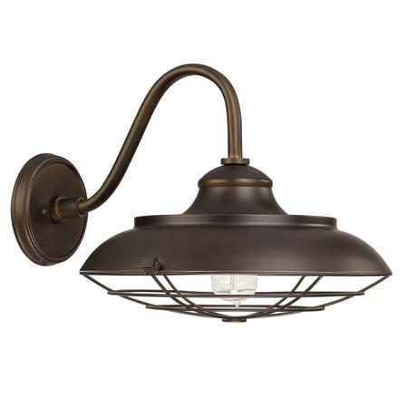 Capital Lighting  Barn Style 1-light Burnished Bronze Wall Lantern Light ()