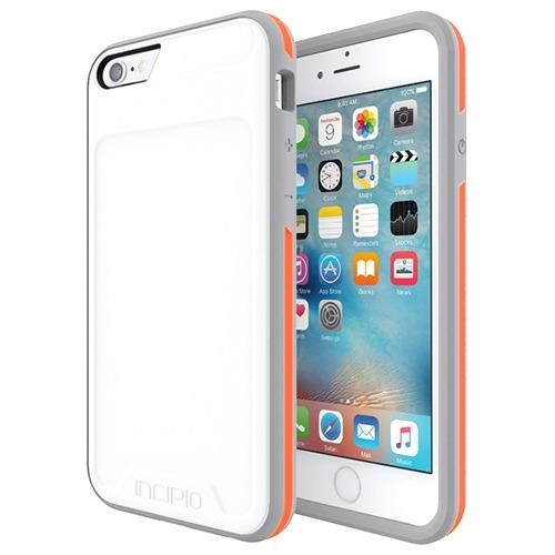 Incipio [Performance] Series Level 3 Superior Drop Protection for iPhone 6/6s - iPhone 6, iPhone 6S - White, Orange - Po