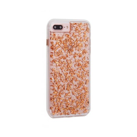 Case-Mate Impact Resistant Karat Case for iPhone 8/7/6/6s - Rose Gold/Clear