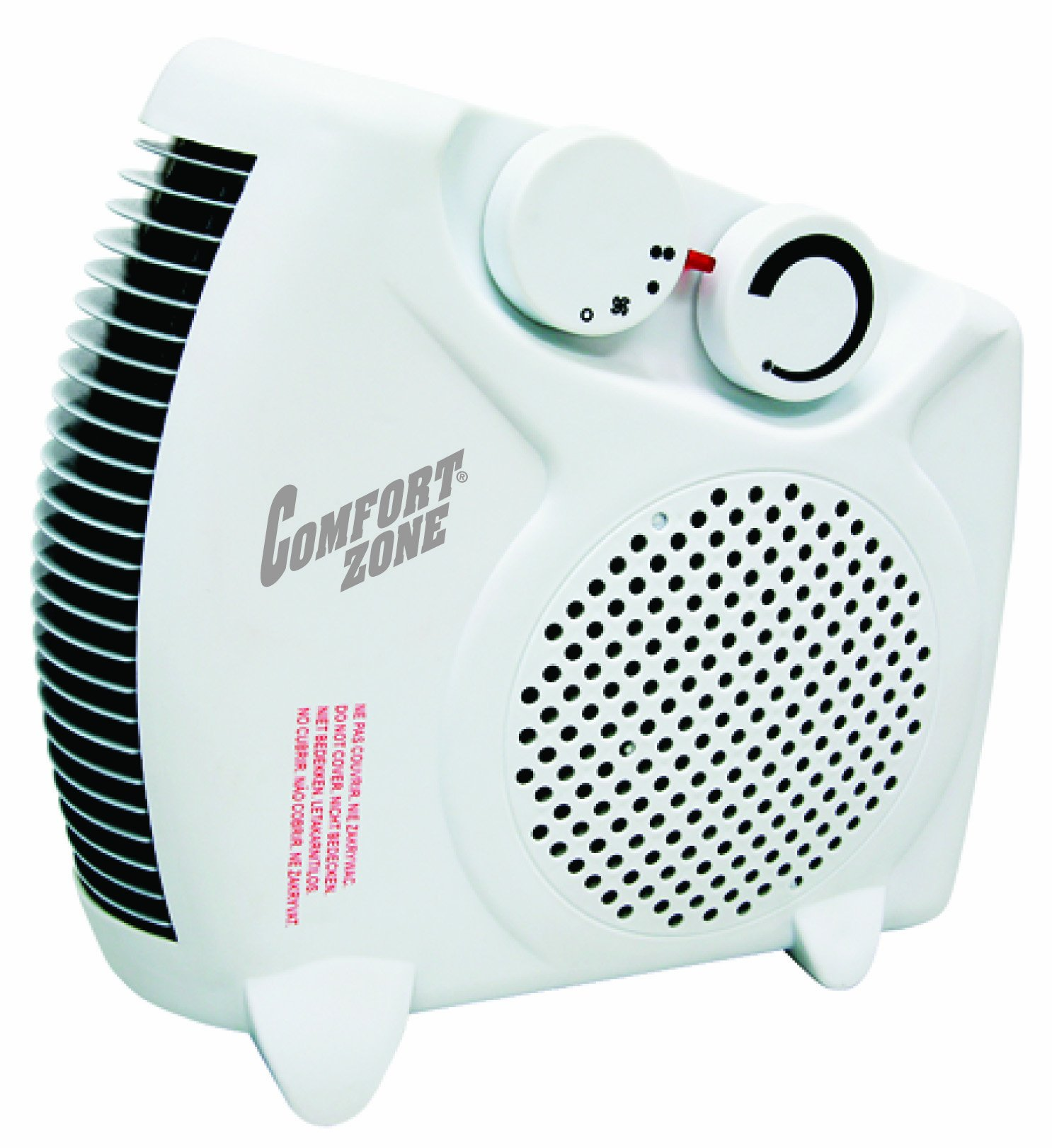 Comfort Zone Howard Berger Co Electric 1500W Deluxe Convertible Fan Heater, CZ30
