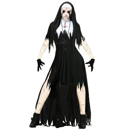 Nun Costume Women (Women's Dreadful Nun Costume)