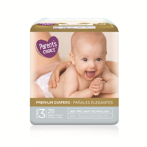 Diapers: Parent's Choice Premium Diapers