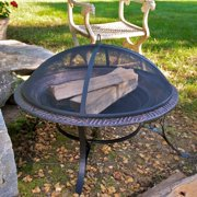 "Good Directions 30"" Medium Fire Pit with Spark Screen - 30"""
