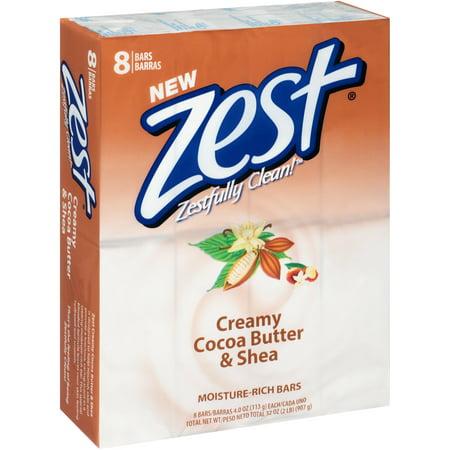 Upc 816559012513 Zest Bath Bars Cocoa Butter Amp Shea