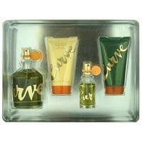 Liz Claiborne amgcur416 Mens Curve Fragrance Gift Set, 4 Piece