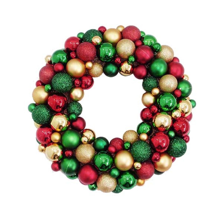 3 Easy DIY Christmas Wreaths  |Christmas Ball Wreath