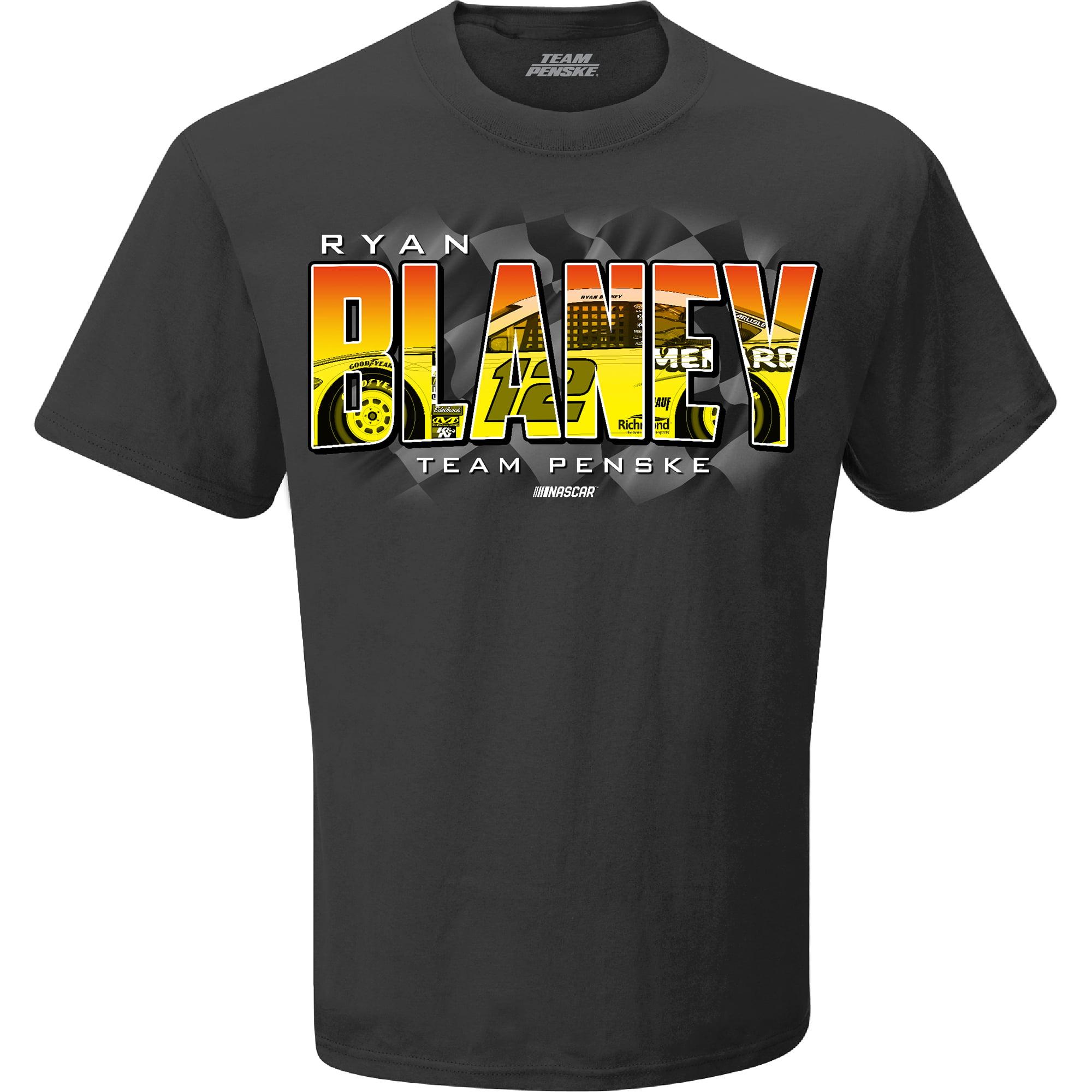 Ryan Blaney Team Penske Menards Weekend Warrior T-Shirt - Charcoal