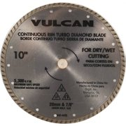 "9404435,DIAMOND SAW BLADES,TURBO CONTINUOUS RIM ,5/8"" ROUND ARBOR,,Dia In=10"