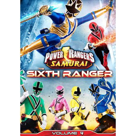 Power Rangers Samurai: The Sixth Ranger Vol. 4
