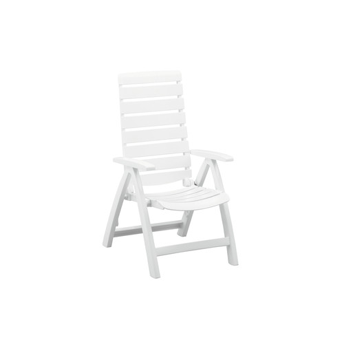Kettler USA Rimini Multi Position High Back Chair In White