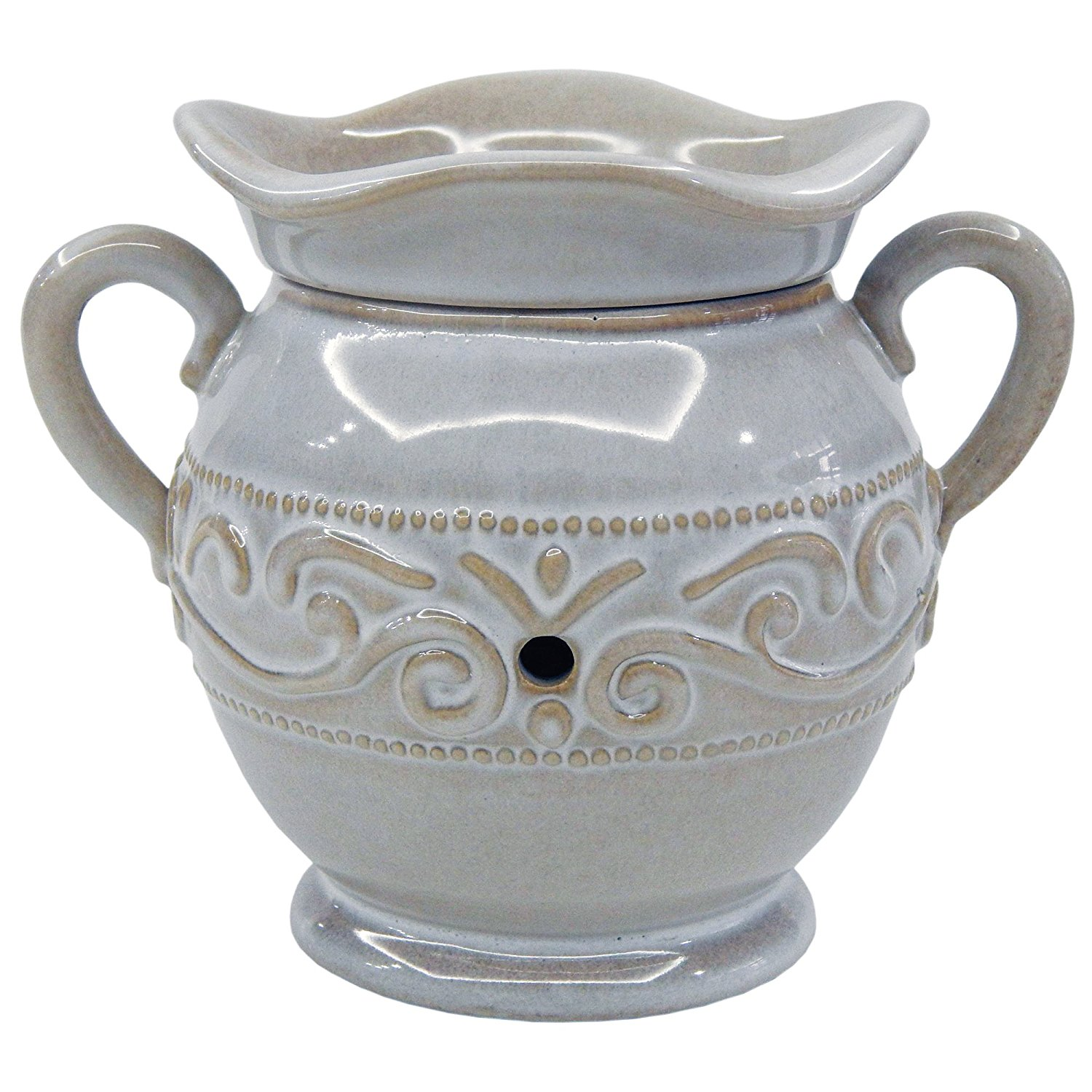 Image of A Cheerful Giver Cream Vase Wax and Oil Warmer