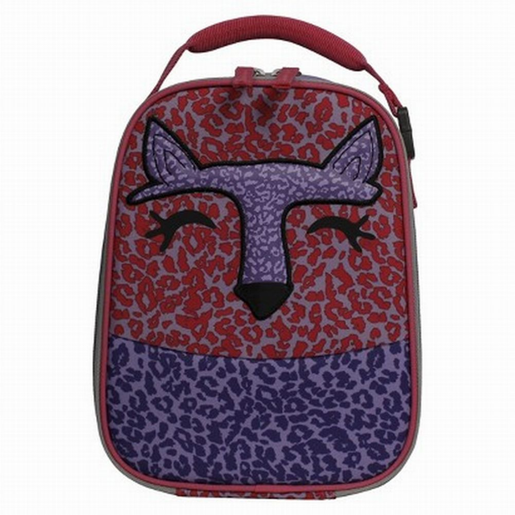 Circo Pink & Purple Cheetah Lunch Box Insulated Lunch Bag Lunchbox