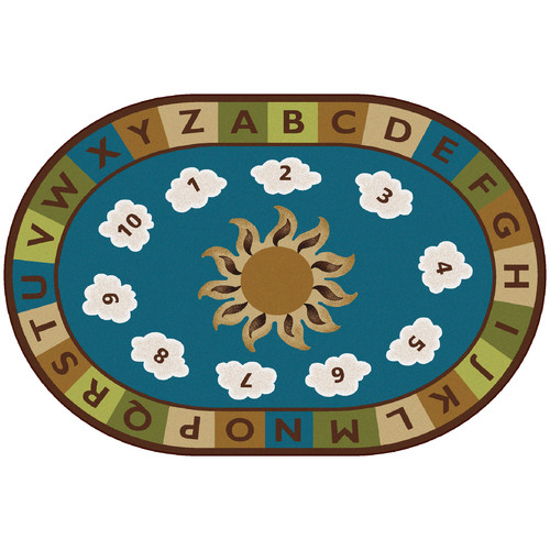 Carpets for Kids Sunny Day Learn and Play Kids Rug