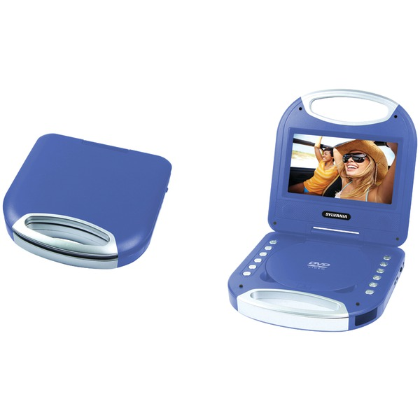 "Sylvania SDVD7049 7"" Portable Dvd Player With Integrated Handle"
