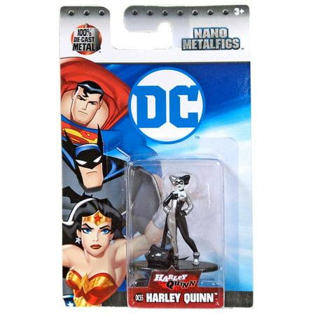 Nano Metalfigs Harley Quinn Diecast Figure [DC55]](Harley Quinn Bio)