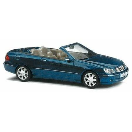 Busch 49405 1:87 Mercedes-Benz CLK Cabriolet 2003 Blue