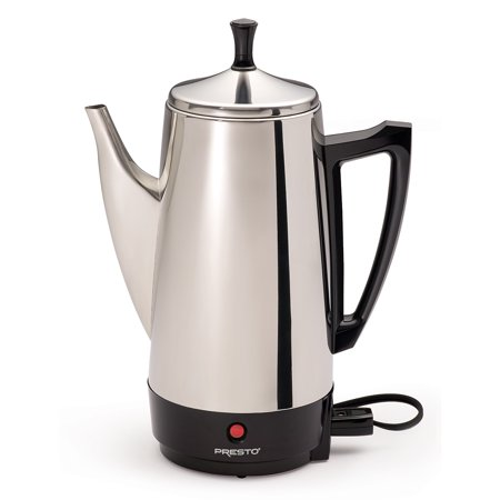 Coffee Urn Percolator - Presto 12-Cup Stainless Steel Coffee Maker