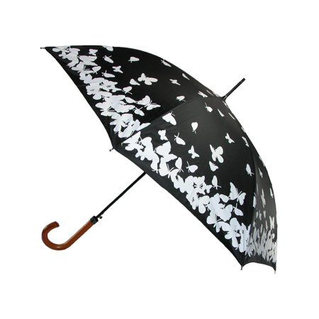 Size one size Women's Water Activated Color Changing Butterfly Print (Butterfly Umbrella)