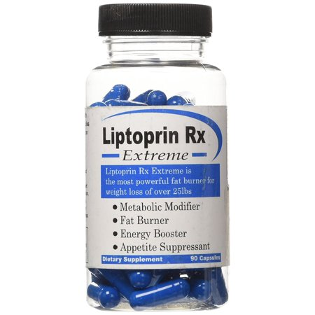 Liptoprin-Rx Extreme - 90 Capsules Natural Weight Loss Pills That Works Fast For Men & Women Best Appetite Suppressant and Thermogenic Fat Burners Supplement Capsules Lose Weight Best Diet