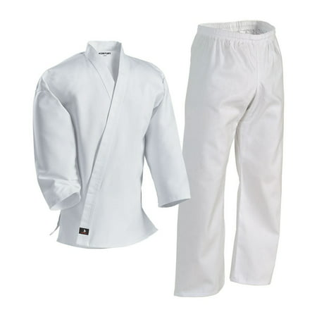 White Student Martial Arts Uniform - 000