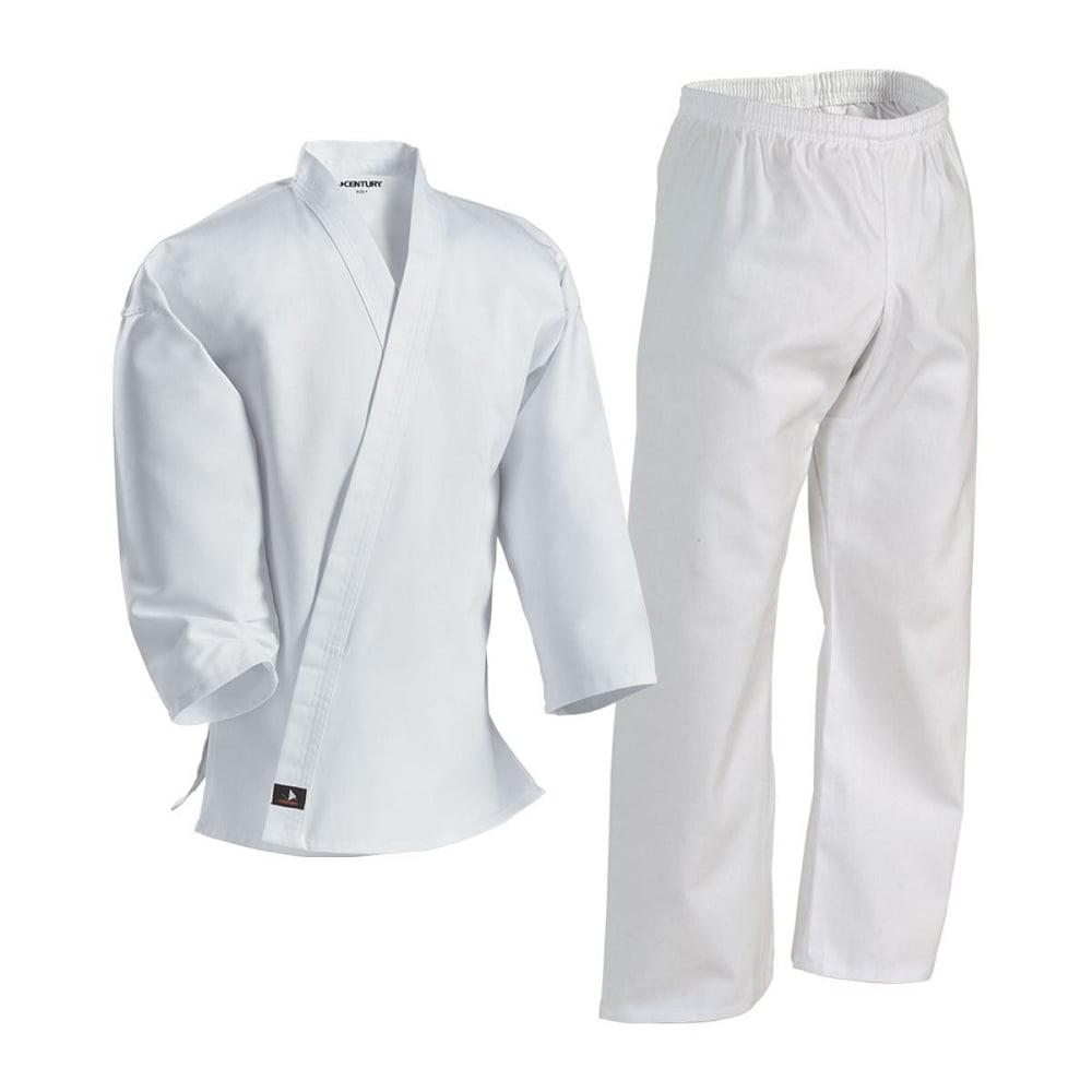 White Student Martial Arts Uniform - 000