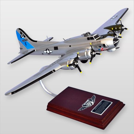 B-17G Flying Fortress Wood Model Plane 72 B-17g Flying Fortress