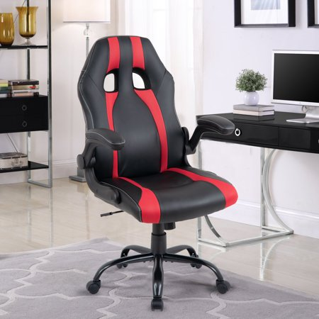 Merax Executive High Back Racing Gaming Chair, PU Leather and