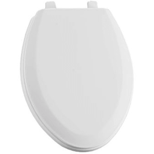 Bemis 1190 Connor Elongated Closed-Front Toilet Seat with Cover and TOP-TITE? Hinges