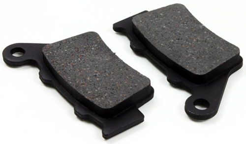 Rear Organic Brake Pads For 2003-2004 Vertemati SR 450//SR 600 Motard Racing