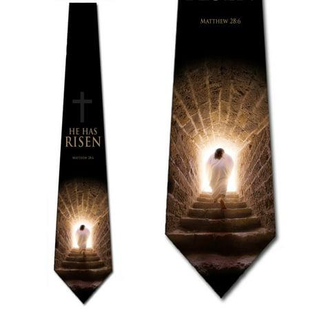 Religious Ties Mens Jesus Easter Necktie by Three (Best Of Class Ties)