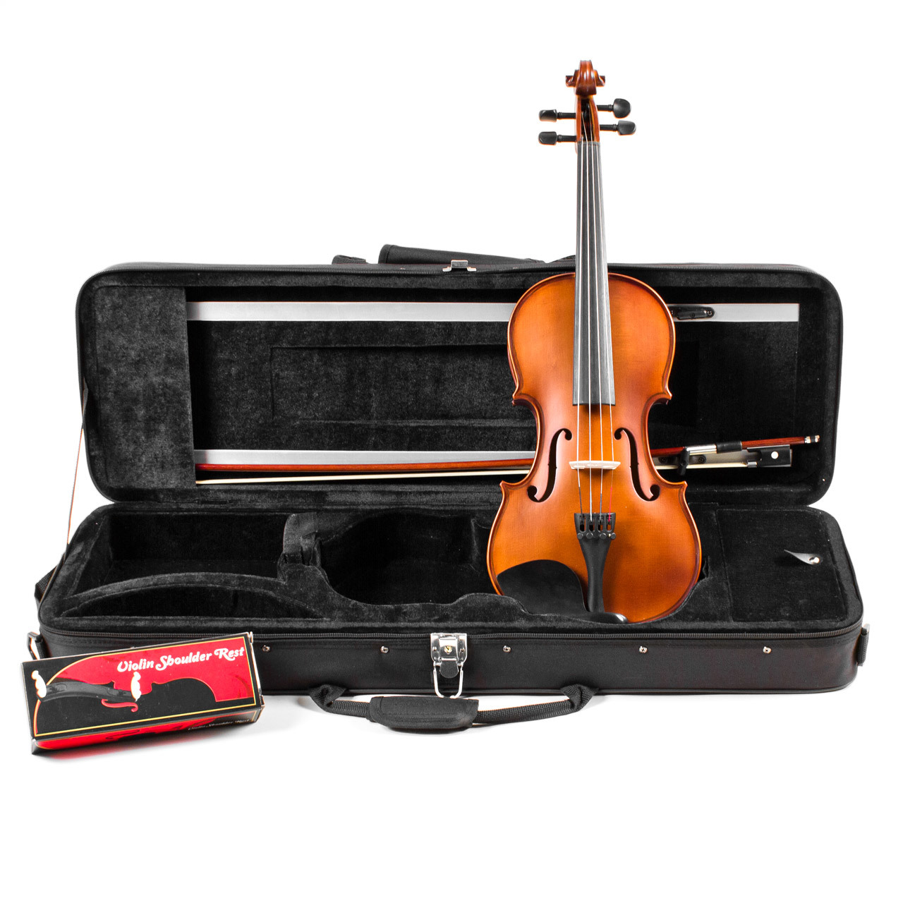 Palatino Intermediate Genoa Solid Spruce Violin Outfit 1 2 Size VN-500-1 2 by Palatino