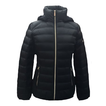 27f901ce35da Michael Kors - Women's Michael Kors Puffer Down Jacket and Coat with  Packable Bag for Winter Lightweight Winterwear Jackets Online - Walmart.com