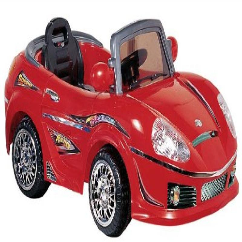 Best Ride on Cars 698R 6V Kids Convertible, Red