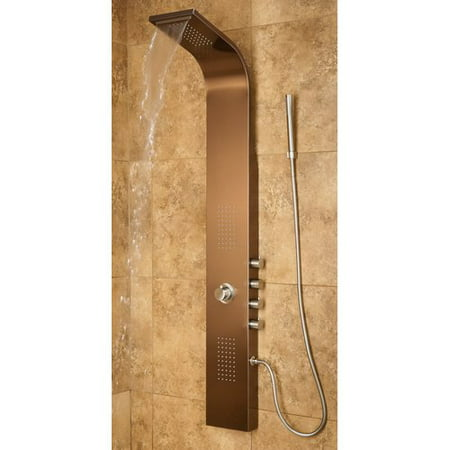 PULSE Santa Cruz ShowerSpa Stainless Steel Shower Panel