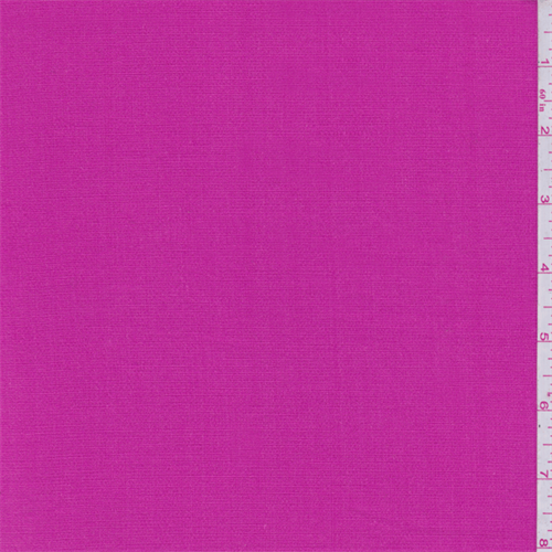 Hot Pink Cotton Stretch Gauze, Fabric By the Yard