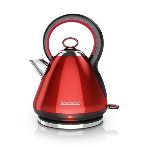 Black + Decker 1.8 Qt. Stainless Steel Electric Tea Kettle