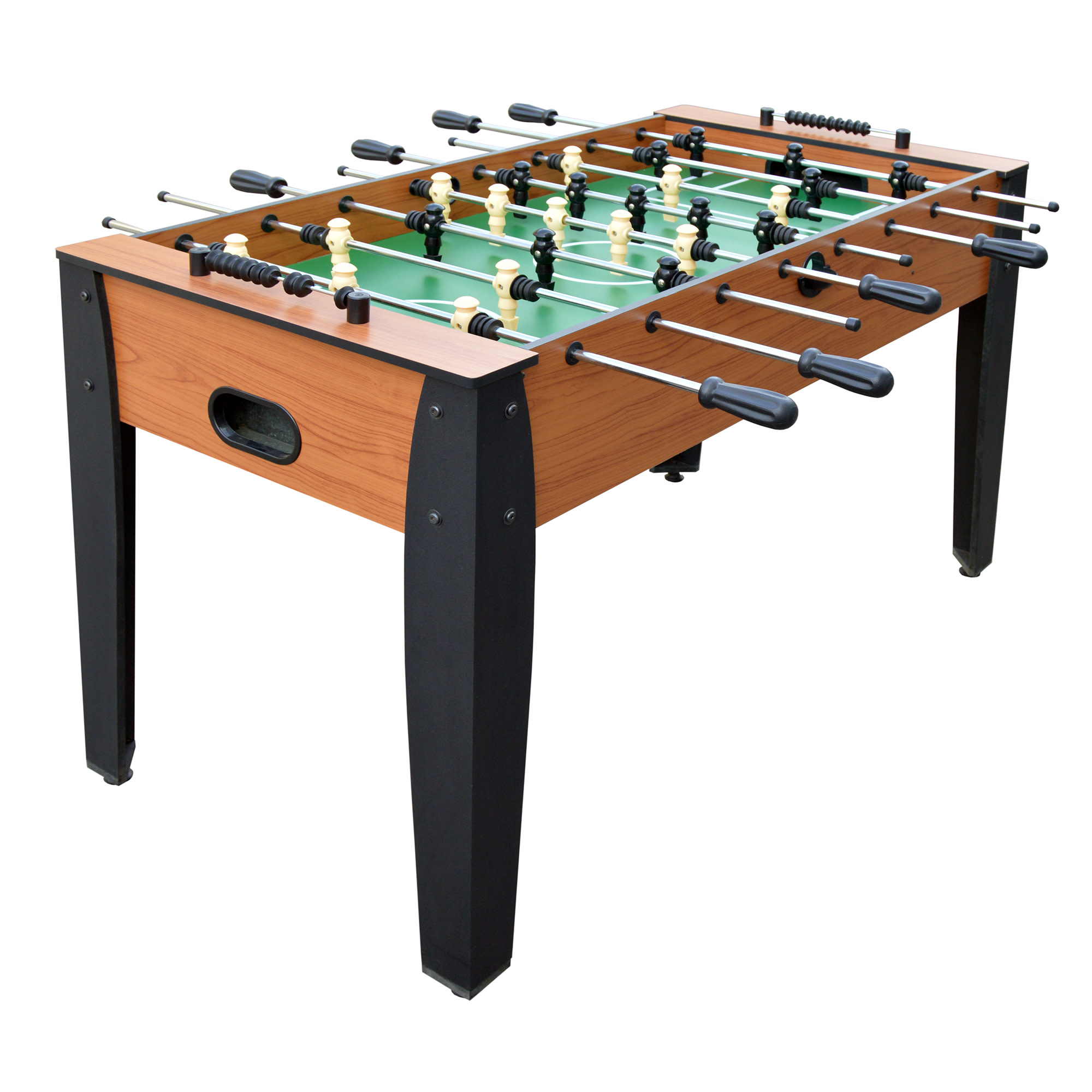 Hathaway Hurricane Foosball Table, 54-in, Light Cherry Finish