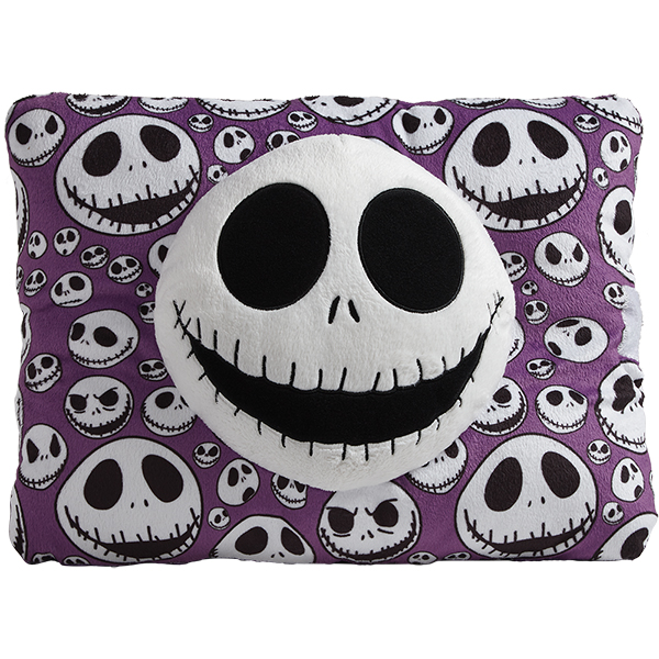 Pillow Pets Nightmare Before Christmas Jack Skellington Plush Toy Purple by CJ Products