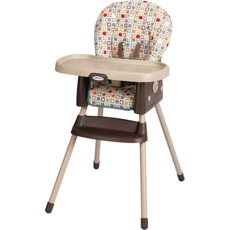 Graco simpleswitch high chair twister for Silla mecedora graco 6 velocidades